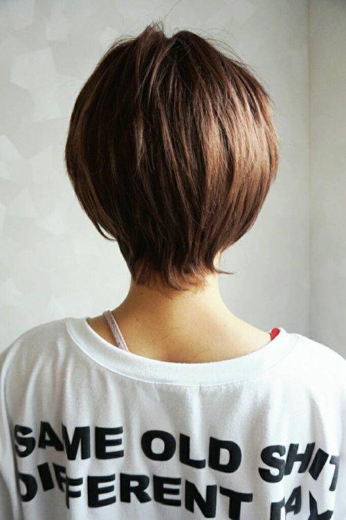 他の写真1: 幅広*型つむじ☆レイヤーコンパクトショート【アッシュブラウンmix】