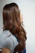 画像5: 幅広つむじ☆ロングウェーブトップピース【全3色】(つむじ付き前髪ウィッグ/部分ウィッグ/ヘアピース/増毛/白髪隠し/ボリュームアップ/ミセス/薄毛/円形脱毛症)