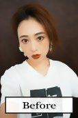 画像2: 《廃盤特価》つむじ付き☆ショートorロングtype☆前髪ウィッグ【全5色】 (2)