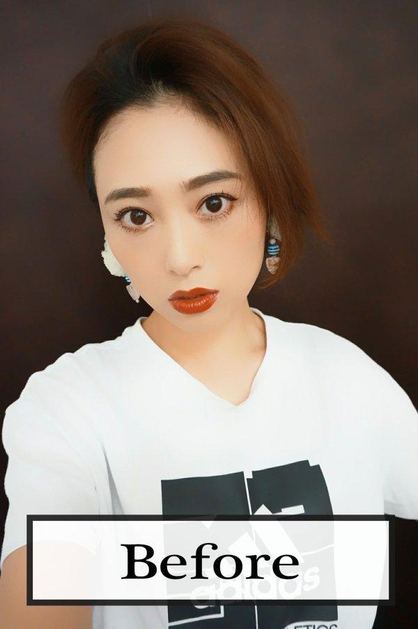 画像2: 《廃盤特価》つむじ付き☆ショートorロングtype☆前髪ウィッグ【全5色】