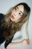 画像6: ふかし加工-ウェットシリーズ☆モードロングパーマ【根本黒染めモカベージュ】