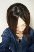 画像18: 《廃盤特価》Ssizeシリーズ☆幅広I型つむじ☆前下がりヘルシーショート【根元黒染めマロン】