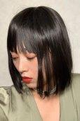 画像13: ぱっつん前髪☆シンプルベーシックボブ【ブラック】