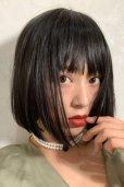 画像5: ぱっつん前髪☆シンプルベーシックボブ【ブラック】