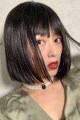 画像6: ぱっつん前髪☆シンプルベーシックボブ【ブラック】