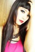 画像13: 眉上バング☆ぱっつんモードストレートロング【NC】