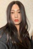 画像16: front lace wig☆センターパート☆ワンレンストレートロング【ナチュラルブラウンブラック】