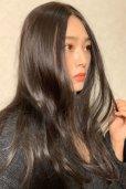 画像4: front lace wig☆センターパート☆ワンレンストレートロング【ナチュラルブラウンブラック】