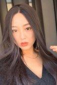 画像20: front lace wig☆センターパート☆ワンレンストレートロング【ナチュラルブラウンブラック】