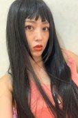 画像7: ≪姉妹店vivid商品≫眉上バング☆ぱっつんモードストレートロング【ブラック】