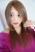 画像14: 人毛mix☆リアルスキン☆総レースストレートロング【ヌーディベージュ】