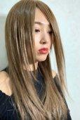 画像12: 人毛mix☆リアルスキン☆総レースストレートロング【ヌーディベージュ】
