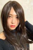画像4: 人毛mix☆リアルスキン☆総レースストレートロング【チョコブラック】