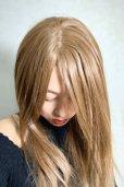 画像13: 人毛mix☆リアルスキン☆総レースストレートロング【ヌーディベージュ】