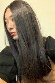 画像13: front lace wig☆センターパート☆ワンレンストレートロング【ナチュラルブラウンブラック】