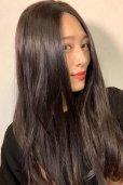 画像7: front lace wig☆センターパート☆ワンレンストレートロング【ナチュラルブラウンブラック】