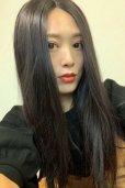 画像14: front lace wig☆センターパート☆ワンレンストレートロング【ナチュラルブラウンブラック】