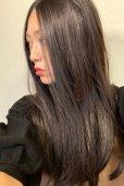 画像9: front lace wig☆センターパート☆ワンレンストレートロング【ナチュラルブラウンブラック】