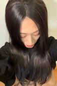 画像8: front lace wig☆センターパート☆ワンレンストレートロング【ナチュラルブラウンブラック】