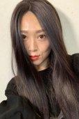 画像11: front lace wig☆センターパート☆ワンレンストレートロング【ナチュラルブラウンブラック】