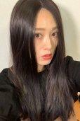 画像12: front lace wig☆センターパート☆ワンレンストレートロング【ナチュラルブラウンブラック】