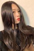 画像15: front lace wig☆センターパート☆ワンレンストレートロング【ナチュラルブラウンブラック】
