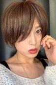 画像8: 【試着】人毛mix☆リアルスキン☆総レース大人ショート【ピュアショコラ】