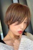 画像6: 【試着】人毛mix☆リアルスキン☆総レース大人ショート【ピュアショコラ】