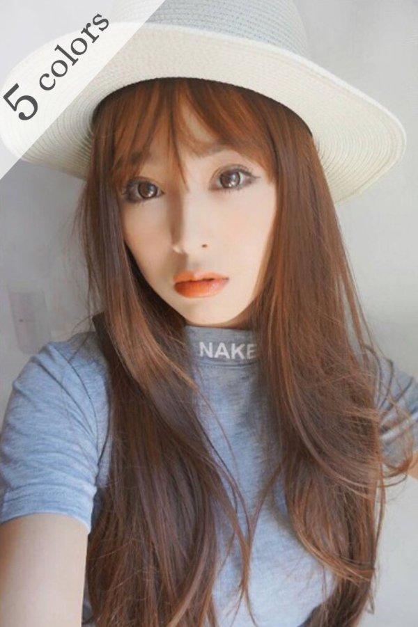 画像1: シースルーバングオルちゃん風smallサイズ☆前髪WIG【全5色】