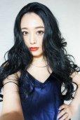 画像8: front lace wig☆マーメイドウェーブロング【ブラック】
