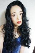 画像5: front lace wig☆マーメイドウェーブロング【ブラック】