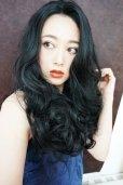 画像17: front lace wig☆マーメイドウェーブロング【ブラック】
