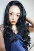 画像15: front lace wig☆マーメイドウェーブロング【ブラック】