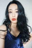 画像13: front lace wig☆マーメイドウェーブロング【ブラック】