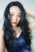 画像9: front lace wig☆マーメイドウェーブロング【ブラック】