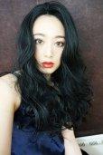 画像10: front lace wig☆マーメイドウェーブロング【ブラック】