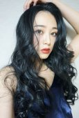 画像16: front lace wig☆マーメイドウェーブロング【ブラック】